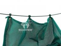 3 Meter Pfeilfangnetz grün strong
