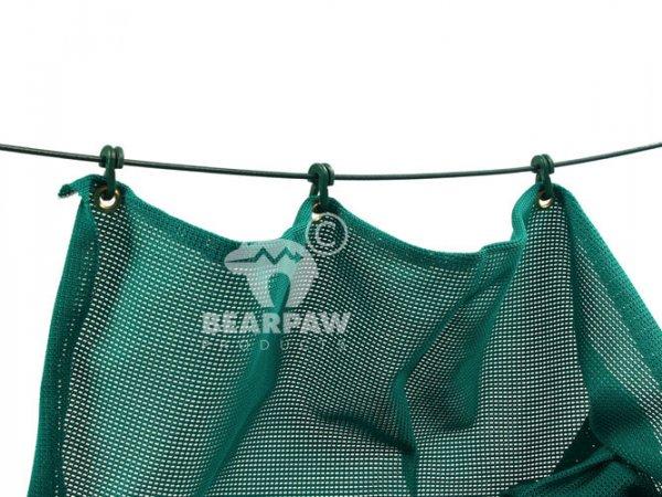 4 Meter Pfeilfangnetz grün strong
