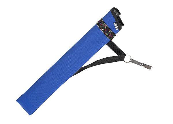Seitenköcher Clip 1 blau