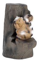 Eichhörnchen mit Backstop