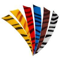 "BP Naturfeder zebra 4"" Shield"